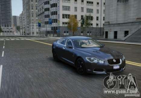 Jaguar XFR 2010 V.2.0 for GTA 4 right view
