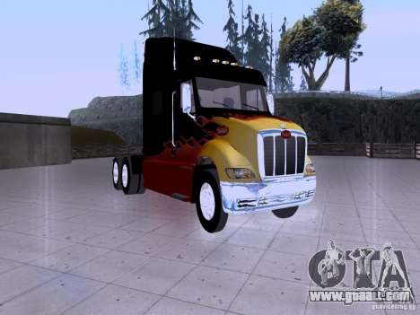 Peterbilt 387 for GTA San Andreas left view