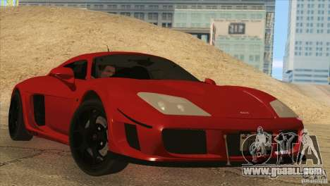 Noble M600 for GTA San Andreas left view