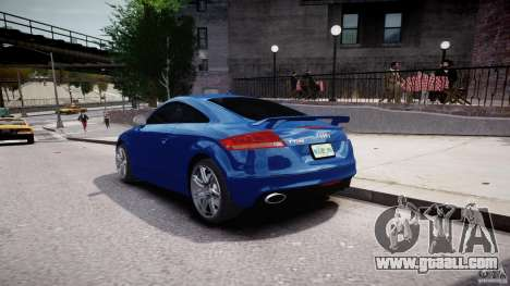 Audi TT RS Coupe v1 for GTA 4 side view