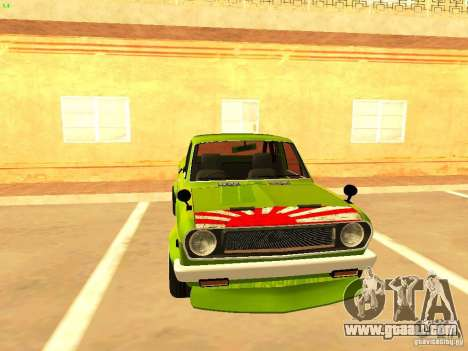 Nissan Sunny K Truck FISH ART for GTA San Andreas right view