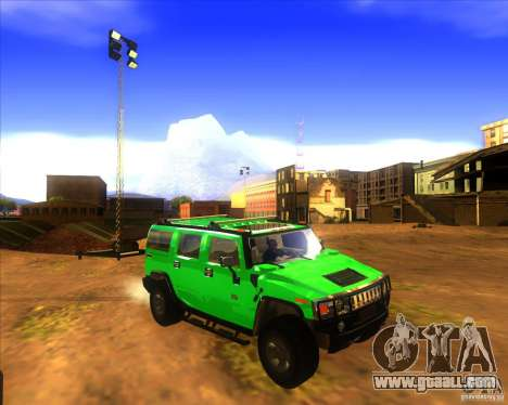 Hummer H2 updated for GTA San Andreas