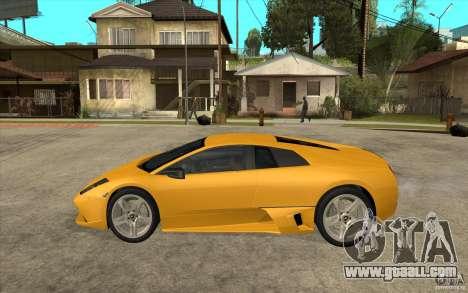 Lamborghini Murcielago LP640 for GTA San Andreas left view