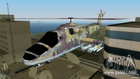 Mi-24 HindB for GTA Vice City