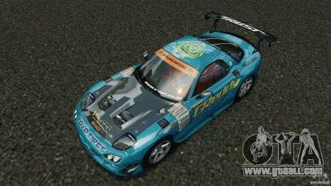 Mazda RX-7 RE-Amemiya v2 for GTA 4 bottom view
