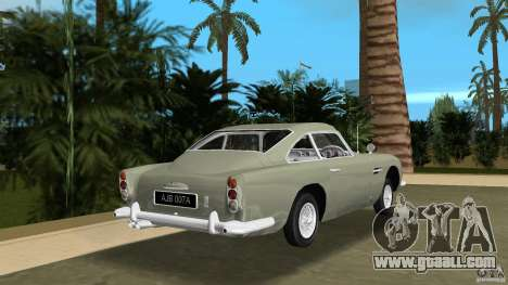 Aston Martin DB5 63-54 (JAMES BOND) for GTA Vice City back left view