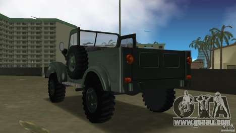 Aro M461 for GTA Vice City back left view