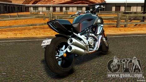 Ducati Diavel Carbon 2011 for GTA 4 back left view