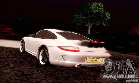 Porsche 911 Sport Classic for GTA San Andreas interior