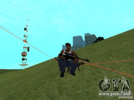 Laser Weapon Pack for GTA San Andreas eighth screenshot