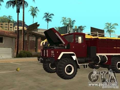 KrAZ 260 for GTA San Andreas right view
