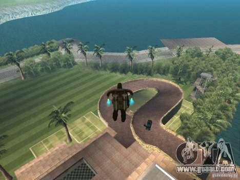Island mansion for GTA San Andreas second screenshot