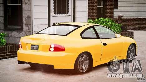Pontiac GTO 2004 for GTA 4 inner view