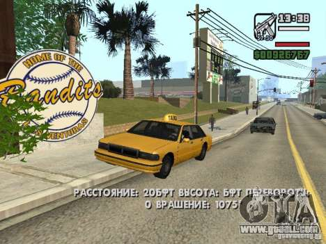 Real time for GTA San Andreas
