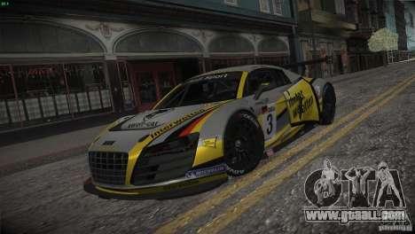 Audi R8 LMS for GTA San Andreas interior