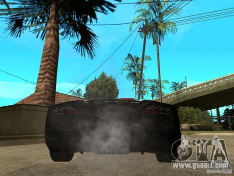 Lamborghini Reventon The Speed Enforcer for GTA San Andreas back left view