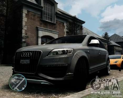 Audi Q7 V12 TDI Quattro Updated for GTA 4
