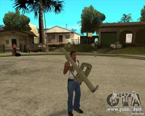 Weapons of call of duty for GTA San Andreas second screenshot