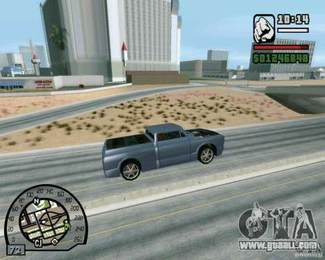 Jumps on the highway in Las Venturase for GTA San Andreas fifth screenshot