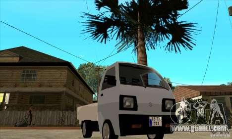 Suzuki Carry Kamyonet for GTA San Andreas back view