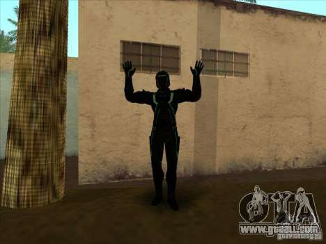 A character from the game Tron: Evolution for GTA San Andreas