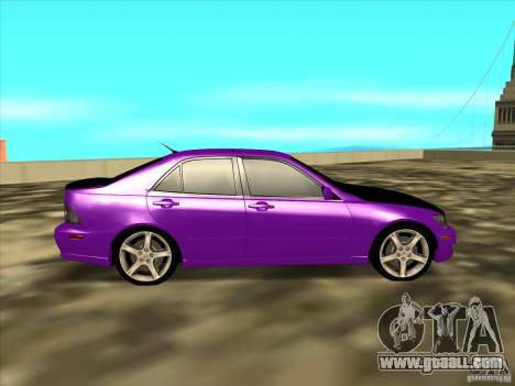 Lexus IS300 - Stock for GTA San Andreas left view