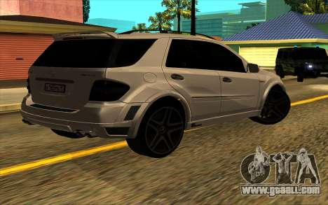 Mercedes-Benz ML63 AMG W165 Brabus for GTA San Andreas left view
