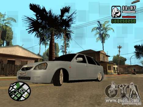 VAZ-2172 for GTA San Andreas left view