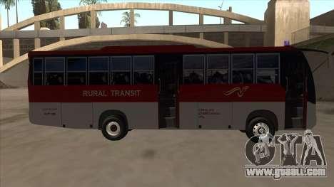 Rural Transit 10206 for GTA San Andreas back left view