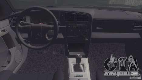 Volkswagen Passat B3 v2 for GTA San Andreas back view
