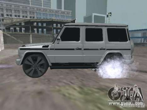 Mercedes-Benz G500 Kromma 1480 for GTA San Andreas left view