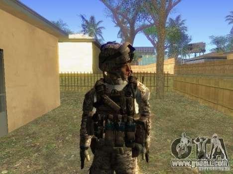 Blackburn of BF3 for GTA San Andreas