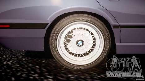 BMW 5 Series E34 540i 1994 v3.0 for GTA 4 interior