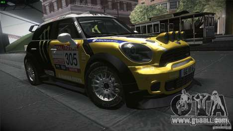 Mini Countryman WRC for GTA San Andreas back view