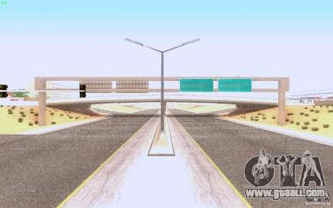 HQ asphalt in Las Venturase for GTA San Andreas