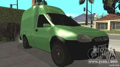 Opel Combo 1.4 for GTA San Andreas left view