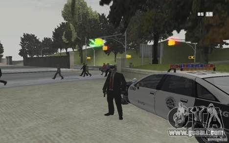 Animation of GTA IV v 2.0 for GTA San Andreas sixth screenshot