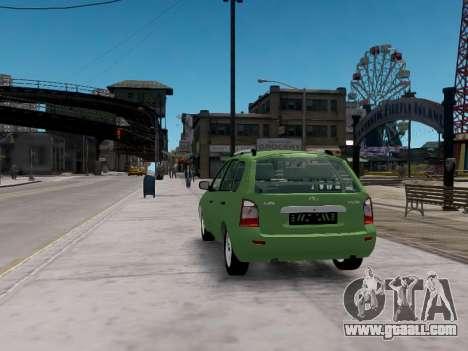 LADA 1117 station wagon Viburnum for GTA 4 back left view