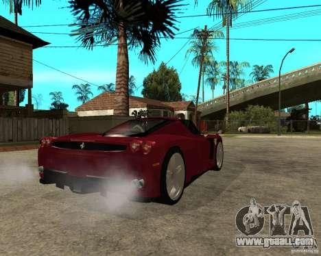 Ferrari ENZO 2003 v.2 final for GTA San Andreas back left view