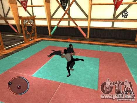 Bruce Lee Skin for GTA San Andreas fifth screenshot