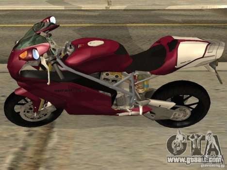 Ducati 999R for GTA San Andreas left view