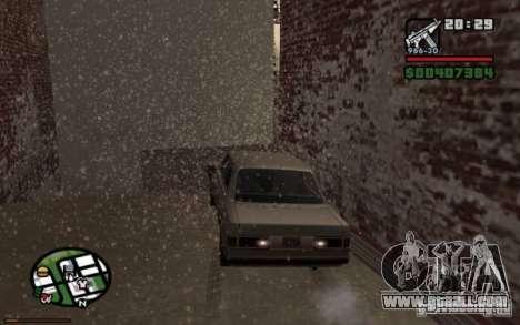 Universal rear lights for GTA San Andreas