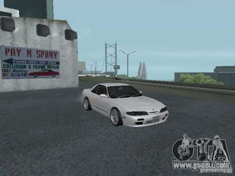 Nissan Skyline R32 Zenki for GTA San Andreas inner view