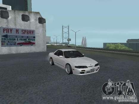Nissan Skyline R32 Zenki for GTA San Andreas inner view