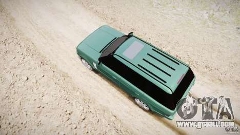 Range Rover Vogue for GTA 4 interior