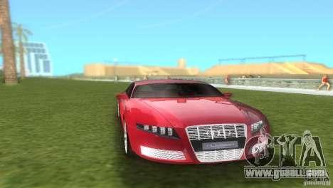 Audi Nuvolari Quattro for GTA Vice City back view