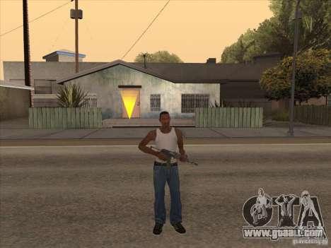 New Domestic Weapons Pack for GTA San Andreas sixth screenshot