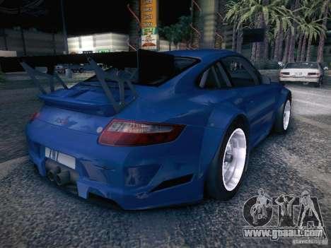 Porsche 997 GT3 RSR for GTA San Andreas back left view
