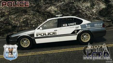 LCPD K9 Unit for GTA 4 left view