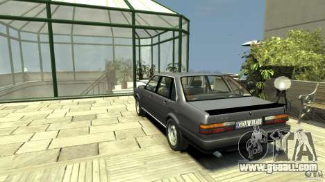Audi 80 B2 1985 Quattro for GTA 4 back left view